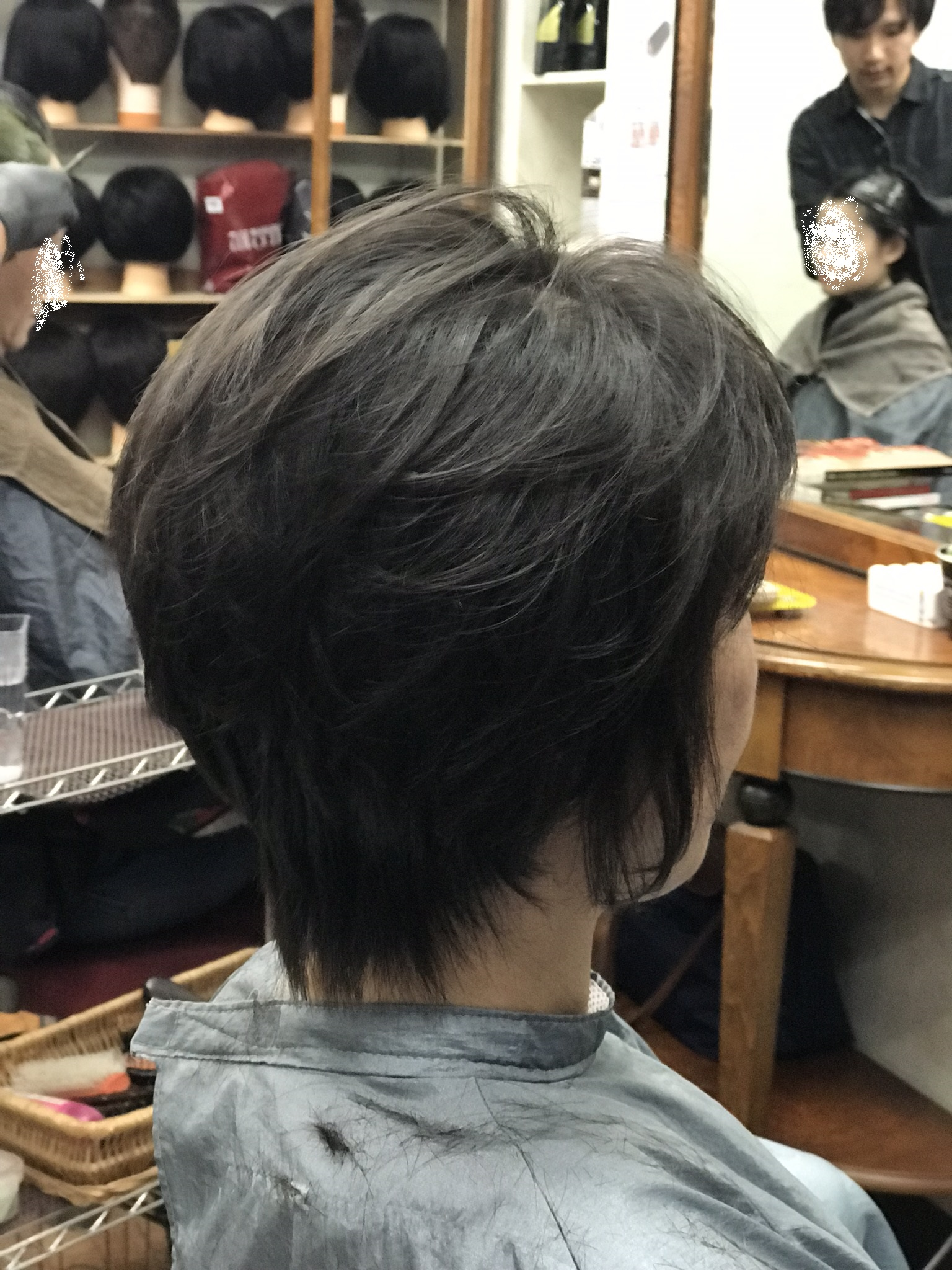 キュビズムカットはくせ毛と相性バツグンです