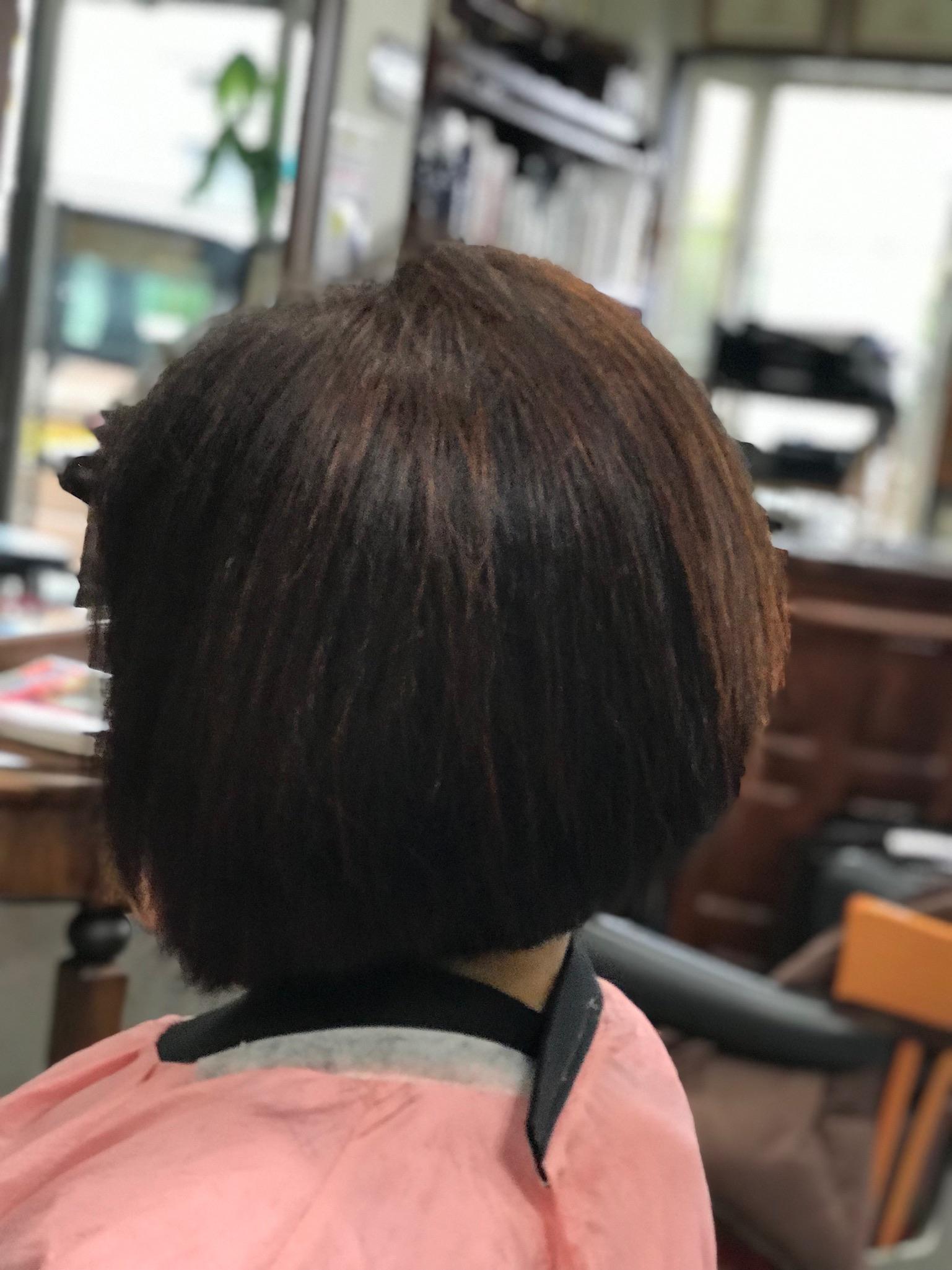 くせ毛の白髪には ヘナがおすすめです