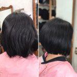 隠れくせ毛は おさまりの良いところまで切ると良い
