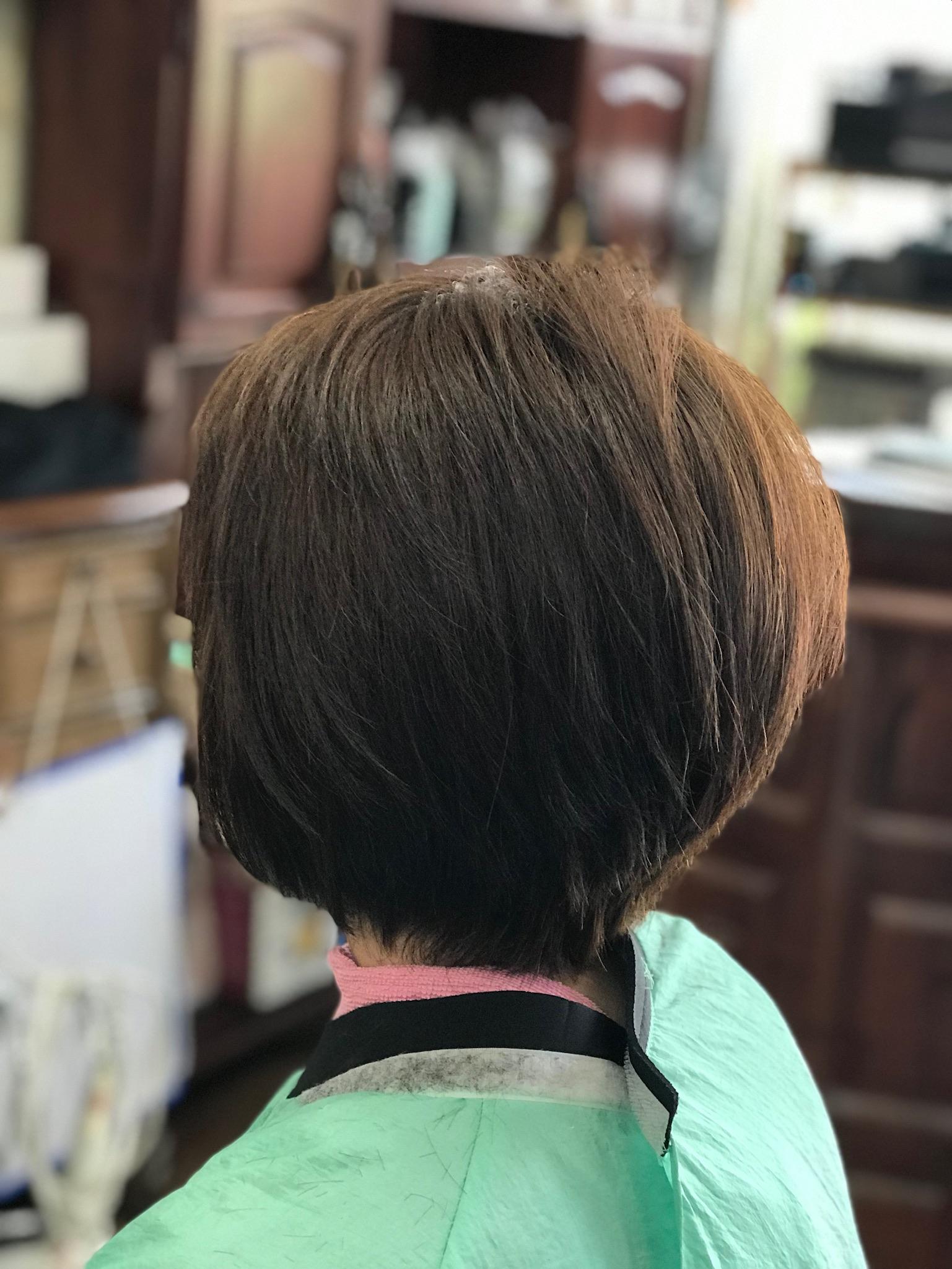 アレルギーのないヘアカラーはシンプル クリアカラー+色彩美楽