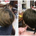 キュビズムカット&インディゴもくせ毛の味方です