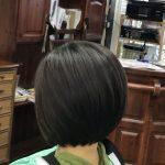 くせ毛・硬毛・多毛も 切り方次第ですっきり軽いボブにできます しかもブローレスでね