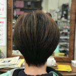 直毛・絶壁 スキバサミで四角くなったのは治る?