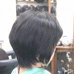 くせ毛のカットとヘナ