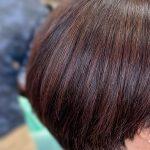 #くせ毛と国産ヘナ #くせ毛にキュビズムカット #くせ毛が消えた? #ブロー要らずで楽ちん