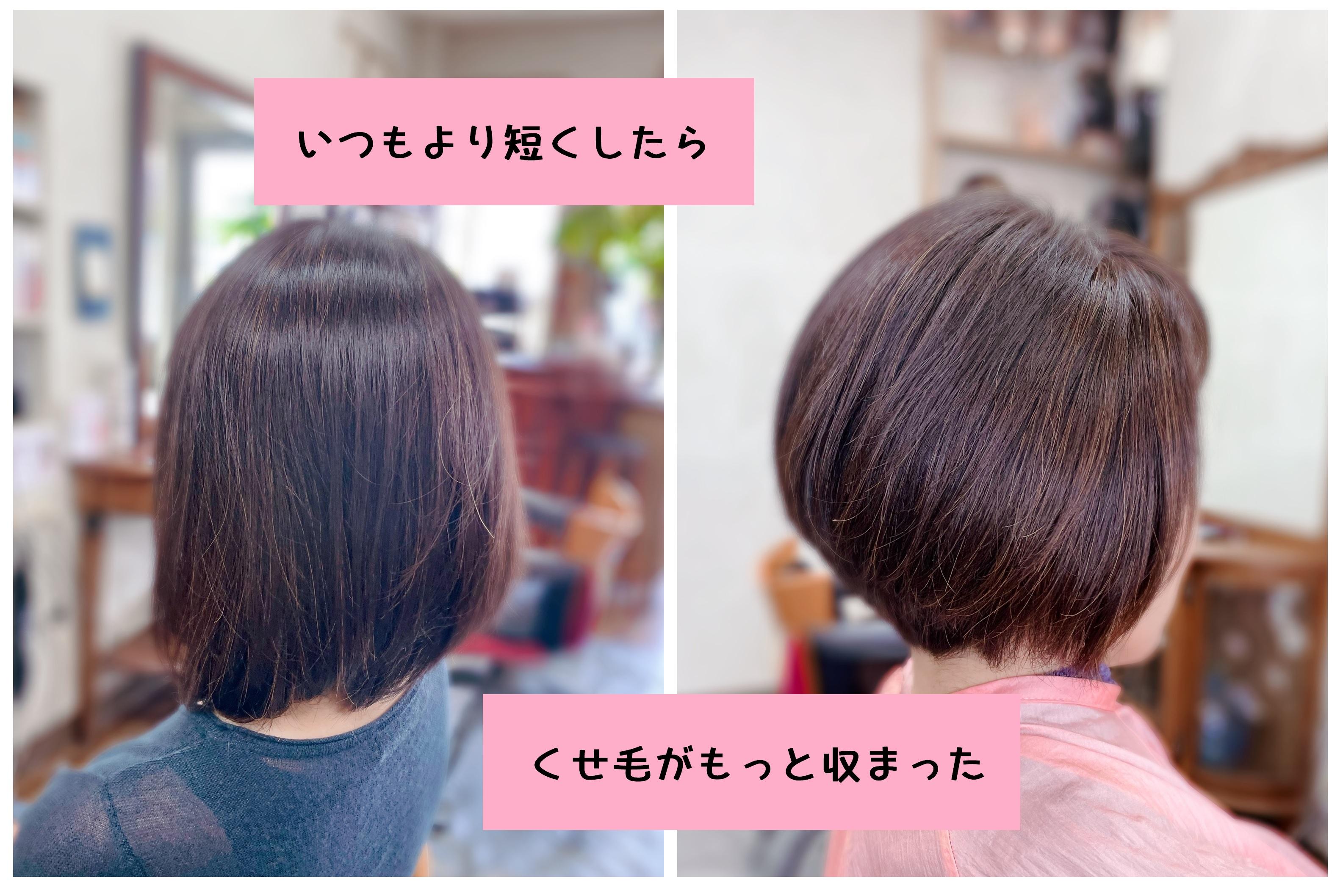 #キュビズムカット #キュビズムボブ #髪の毛に意思がある #グラボブ #美らヘナ #おうちヘナ